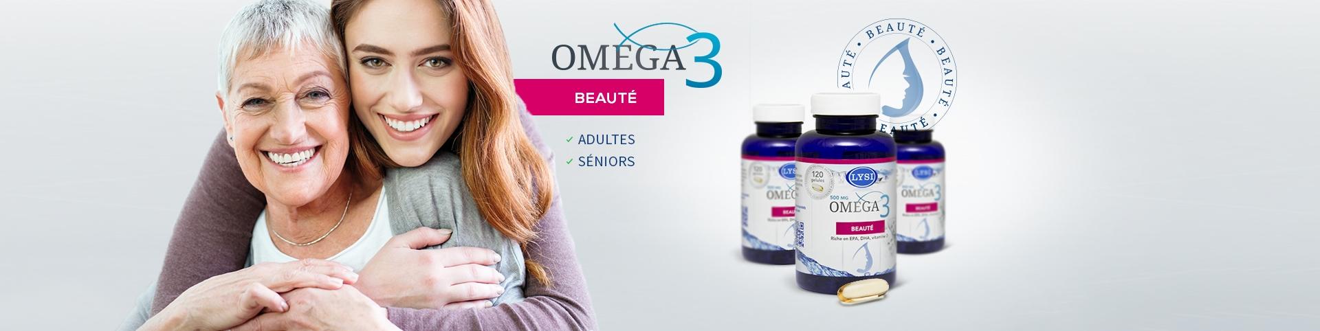 Embellir votre peau, onglet et cheveux avec nos gélules riches en omega 3 et vitamine D
